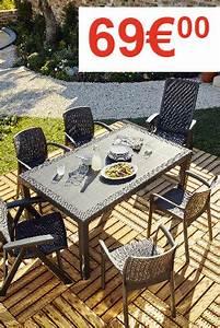Salon De Jardin Brico Depot : table de jardin brico depot ~ Farleysfitness.com Idées de Décoration