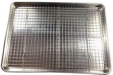 stainless steel cooling baking roasting rack cookie sheet