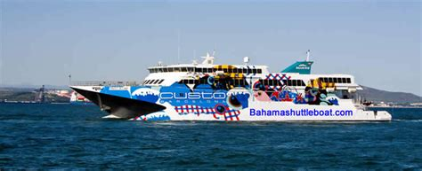 Boat Rides From Miami To Nassau by Offers Bahamas Fast Ferry Express Bahama Shuttle Boat