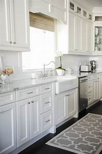 all white kitchen How To Make Your Boring, All-White Kitchen Look Alive! — DESIGNED