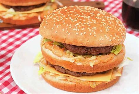 Como no Mc Donald's: Recrie o famoso Big Mac com sua fórmula secreta   Comida étnica, Big mac ...