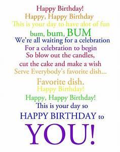 Happy Birthday Song Lyrics   My Blog