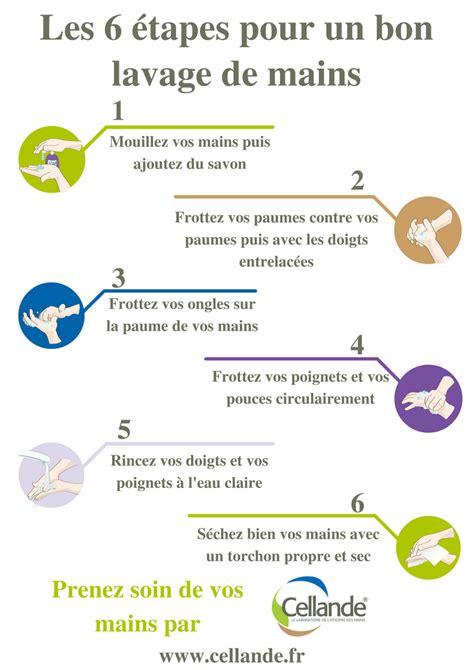 protocole de lavage des mains en cuisine journée mondiale du lavage des mains cellande