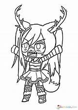 Gacha Coloring Pages Raskrasil Club Deer Dibujos Printable Gotcha Anime Drawing Para Colorear Characters Boys Chibi Angel Draw Bmg Info sketch template