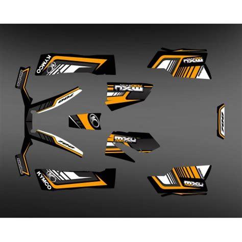 quads of the brand kymco kxr maxxer mxu idgrafix fr kit d 233 co