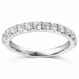 14k White Gold 1/3ct TDW Diamond Wedding Band « Wedding ...