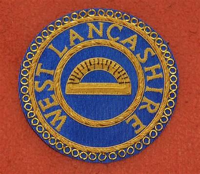Gauntlet Badges Masonic Provincial Pair District Badge