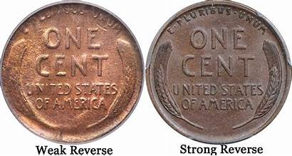 1922 Lincoln Value Reverse Weak Strong Wheat