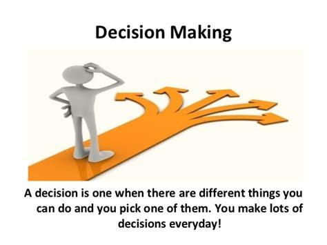 decision ppt