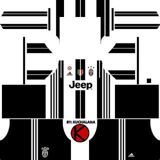 Juventus 17/18 - Dream League/FTS 18 Yeni Sezon Forma Kits Ve logo url - wid10.com|Dream league 2018 Fts Forma kits ve logo url