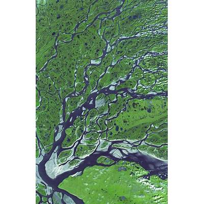 Lena River Russia - ASTER Image Gallery