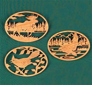 Scroll Saw Patterns Wildlife Plans DIY Free Download fold