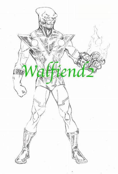 Manhunter Skrull Pencils Deviantart