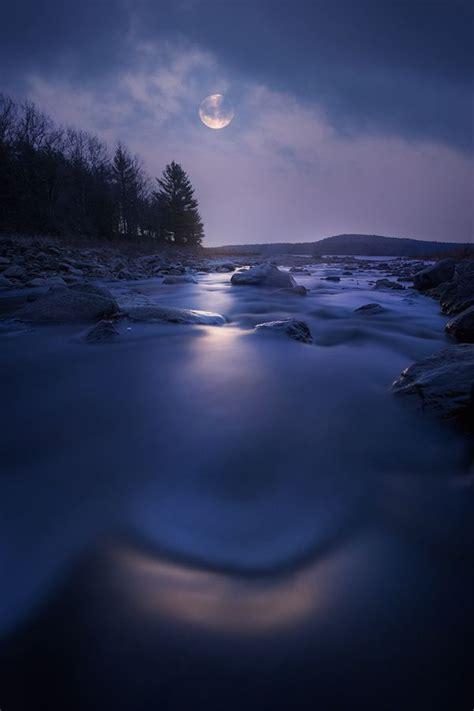 catching moonlight quabbin resvoir ma  patrick