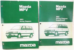 U0026 39 1993 Mazda Mpv Van Wiring Diagram Schematic Shop Service Manual 2