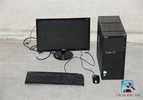 vendre ordinateur de bureau ordinateur de bureau à vendre sur clicpublic be