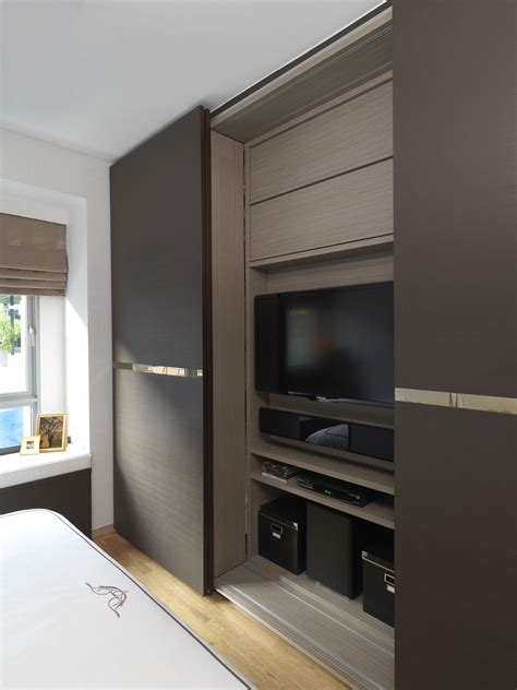 Sliding Wardrobe Closet by Sliding Wardrobe Tv Wardrobe Santosh Condominium