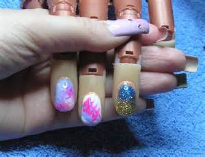 Quick easy gel nail art designs
