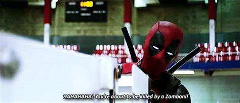 Gifs Deadpool Wade Wilson Marvel Xmen Marveledit Xmenedit