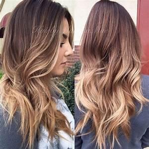Balayage Cheveux Frisés : balayage femme cheveux long ~ Farleysfitness.com Idées de Décoration