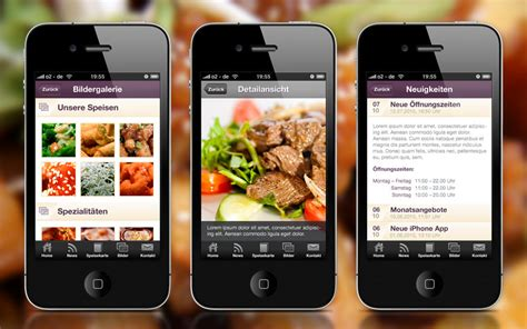 application cuisine android restaurant mobile apps android iphone or both mobile
