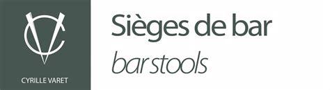 sieges bar comptoir de bar en acier et bois sièges de bar