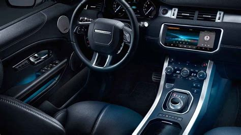 land rover range rover evoque photo interior image carwale