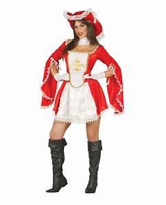 Kostüm Musketier Damen : sexy musketier lady rot k mpferisches damenkost m karneval universe ~ Frokenaadalensverden.com Haus und Dekorationen