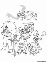 Steven Universe Coloring Pages Cartoon Characters Printable Sheets Adult Colouring Gems Crystal Books Steve Peridot Lapis Garnet Pearl Ruby Sapphire sketch template