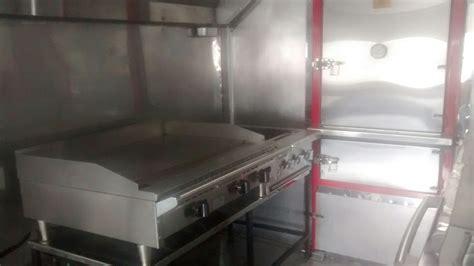 custom bbq food truck