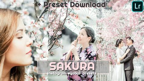 In collaboration with professional photographers, designers & bloggers find awesome editing features in our app! Lightroom Preset SAKURA + Free Download | Preset Grátis ...