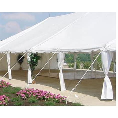 Draping Poles - side pole draping
