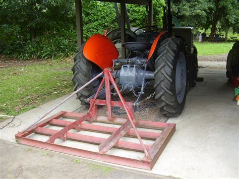 Image result for homemade land leveler   3pt and tractor