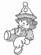 Coloring Pages Clowns Para Colorear Circus Payaso Printable Dibujo Con Rostro Payasos Cute Dibujos Adult Print Precious Moments Little Muneco sketch template
