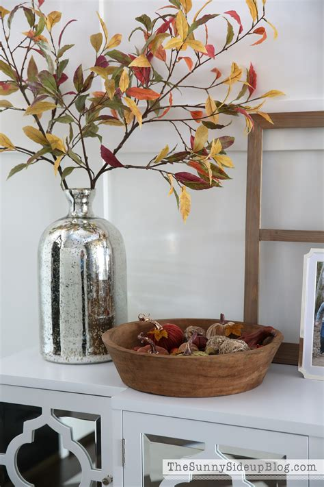 mirrored console table ready  fall  sunny side