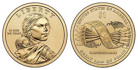 sacagawea dollars great law  peace native american dollars   prices