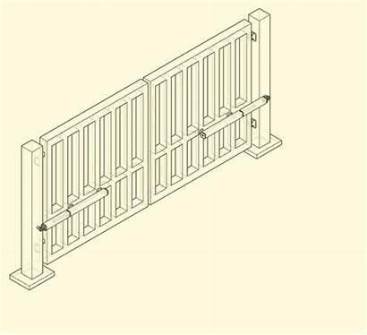 Gate Swing Heartlands Leaf Gates Sliding Diagram