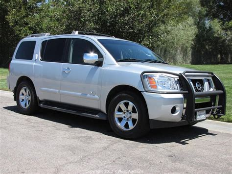 2006 Nissan Armada Review by 2006 Nissan Armada Pictures Information And Specs