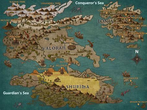 lol world map leagueoflegends