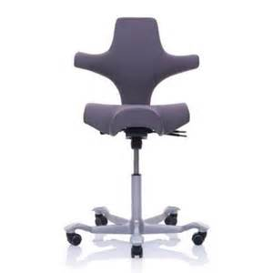 hag capisco puls 8010 black saddle chair