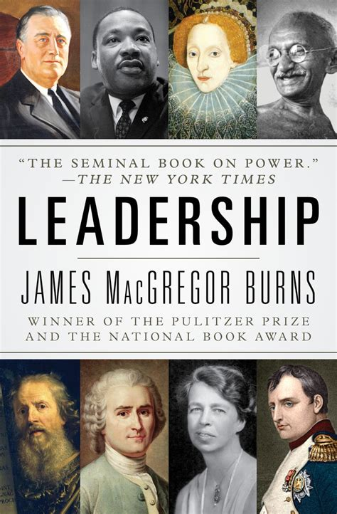read leadership   james macgregor burns books