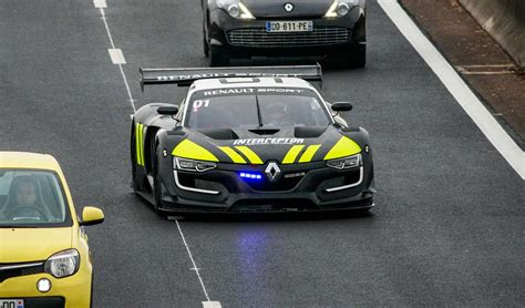 renault race cars renault sport r s 01 quot interceptor quot race car cop car