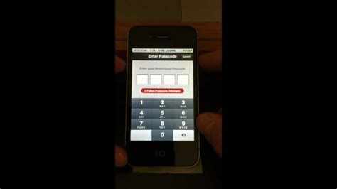 how to unlock an iphone 5c how to recover restrictions passcode unlock iphone 4 4s 5