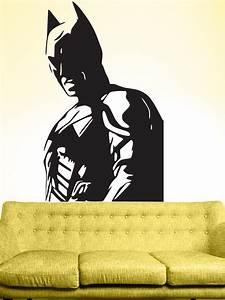 batman wall decals superhero wall stickers decals and With batman wall decal