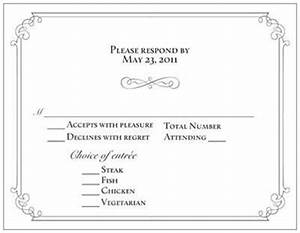 rsvp card with meal choice gney do designs With wedding invitation wording vegetarian option