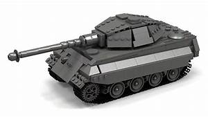 Lego Wwii King Tiger  Tiger Ii Instructions