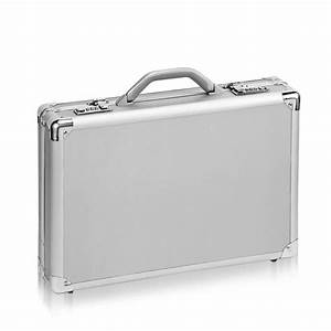 "Solo 17"" Aluminum Laptop Attache Case Hardsided Briefcase ..."