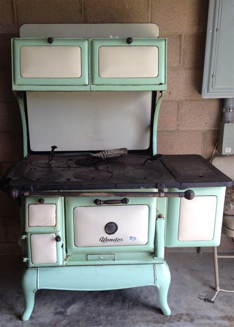 antique wood burning cook stove  located  south