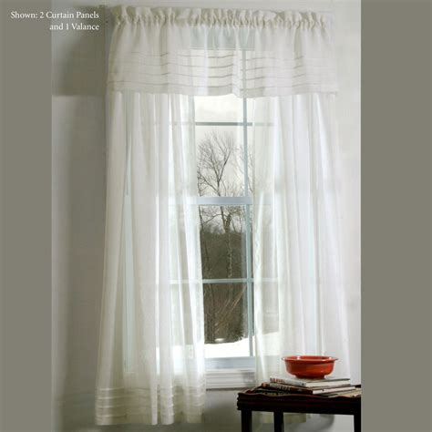 galway pleat accented semi sheer window treatment