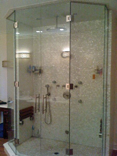 glass steam shower enclosures residential glass